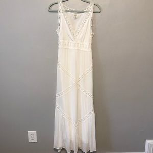 Max Studio White Maxi Dress